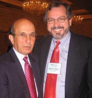 Joel Klein & Bob at Yale