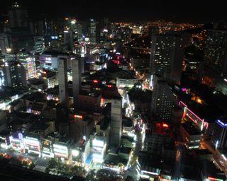 Busan at night1