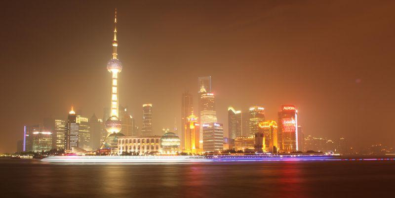 Shanghai Night Skyline 1