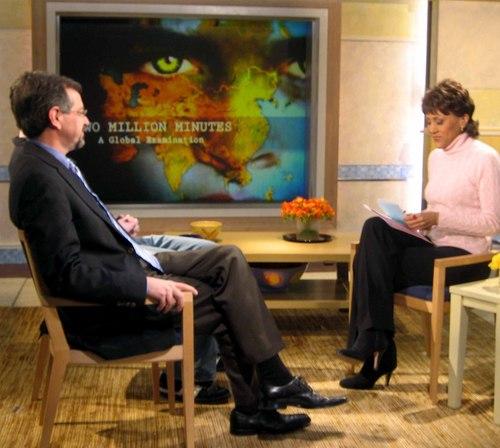 Good Morning America Intruder Interview : Good morning america behind scenes interview with robin