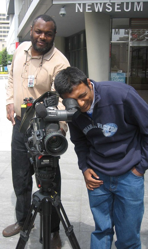 Rohit_behind_the_camera