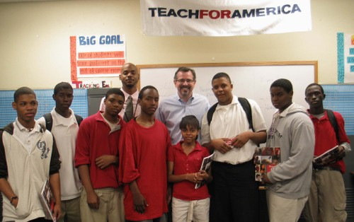 Bob_teach_for_america_class
