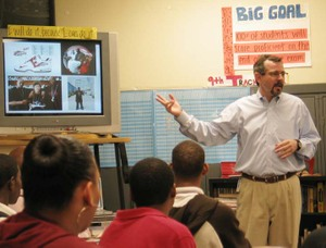 Bob_teaching_at_east_high_lores